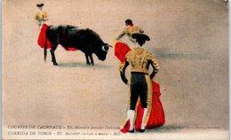 CORRIDA - Courses De Taureaux- 19 , Matador Portant L'estécade - Corrida