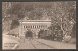 Carte P ( Italie / Chemins De Fer / Imbocco Del Sempione ) - Trains