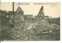 02 - REMIGNY / RUINES DU QUARTIER DE LA MAIRIE - France