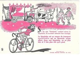 BUVARD  La  Bicyclette, Cyclisme  édité  Par  La  CHAMBRE  SYNDICALE  NATIONALE  DU  CYCLE - Collections, Lots & Series
