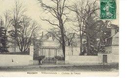 Cpa Brunoy Villecresnes Chateau De Cerçay - Villecresnes