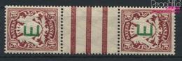 Bavière D5ZS Paire Avec Interpanneau Neuf Avec Gomme Originale 1908 Etat Emblem (9222469 (9222469 - Beieren
