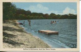 003980  Bathing At Batchewana, Sault Ste. Marie - Ontario