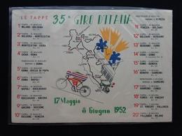 REPUBBLICA 1952 - 35° Giro D'Italia - Tappa Erba-Como + Spese Postali - 6. 1946-.. Repubblica