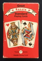 Great Russia Playing Cards, Piatnik, Austria, Red, 55 Cards, New - Playing Cards (classic)