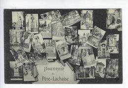 CPA Paris 20 Souvenir Du Père Lachaise - Arrondissement: 20