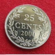 Liberia 25 Cents 2000 UNCºº - Liberia