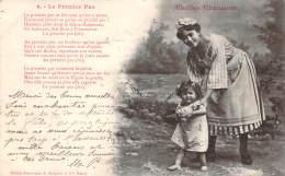 Bergeret - Vieilles Chansons - Le Premier Pas (cad Perlé Chateau-L'Evêque 1903 Sur Mouchon 10c) - Bergeret