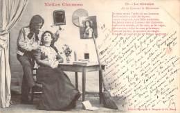 Bergeret - Vieilles Chansons - Le Grenier N°17 (cad 1903 Ambulant Agen à Limoges Sur Mouchon 10c) - Bergeret