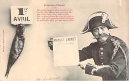 Bergeret - Poisson D'Avril 1er Avril - Mandat D'Arrêt - Bergeret