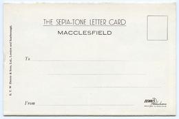 MACCLESFIELD : 6 VIEW LETTER CARD - BROKEN CROSS, PRESTBURY, TYTHERINGTON, GAWSWORTH CHURCH - England