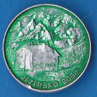 Jezersko 906 M Mountain Lodge  Alpinism, Mountaineering Slovenia Pin - Alpinism, Mountaineering