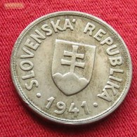 Slovakia 50 Halierov 1941 KM# 5 Eslovaquia Slovaquie - Slovaquie