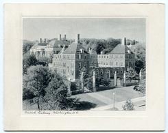 CHRISTMAS CARD : BRITISH EMBASSY, WASHINGTON D.C. - Old Paper