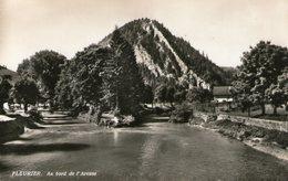 (70) CPSM  Fleurier  Bord De L' Areuse  (Bon Etat) - NE Neuchâtel