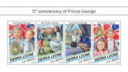 Z08 IMPERF SRL18501a Sierra Leone 2018 Prince George MNH ** Postfrisch - Sierra Leone (1961-...)