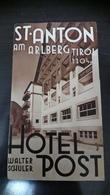 St Anton Tirol Hotel - Dépliants Touristiques