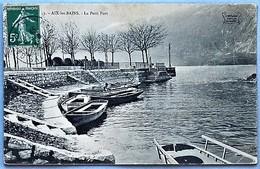 K73A - AIX-les-BAINS - Le Petit Port - Aix Les Bains