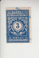 Finland Spoorwegzegel Cat. Hellman Nationale Spoorwegen 49 - Other