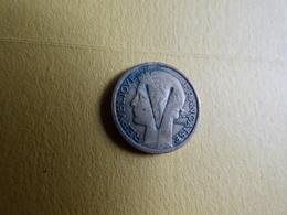 50 Centimes   Surfrappé V.    VICTOIRE? - Errores Y Curiosidades