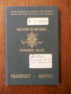 Reispas  LEROY  PAUL  Geb .   1912  Te FOREST - Vervoerbewijzen
