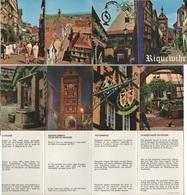 Riquewihr - Lot De 12 Mini Cartes Postales - Riquewihr