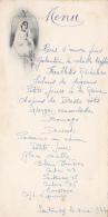 Menu Illustré De 1er Communion à Santenay (21), Le 4 Mai 1947 - Menus
