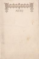 Menu Imprimé Feuillet Double - Mariage De Louis Nié Et Marie-Antoinette Néant, 30 Octobre 1935 - Menus