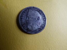 RARE 2 FRANCS NAPOLEON 1866K - I. 2 Francs