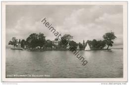 Insel Wilhelmstein Im Steinhuder Meer - Foto-AK - Verlag Photohaus Wiegele Steinhude Gel. 1954 - Allemagne