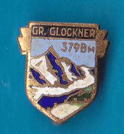 Grossglockner 3798m Alpinism Mountaineering Austria Vintage Email Pin - Alpinism, Mountaineering