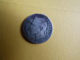RARE 2 FRANCS NAPOLEON 1867BB - I. 2 Francs
