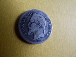 RARE 2 FRANCS NAPOLEON 1869BB - I. 2 Francs