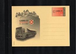 2001 - Switserland Postal Stationary - Transport - Busses [JG043] - Postwaardestukken