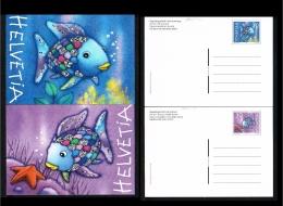 2001 - Switserland Picture Postcard - Fauna & Animals - Fish [JG054] - Postwaardestukken