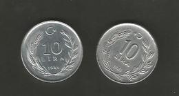 Monnaies Turques - Turquia