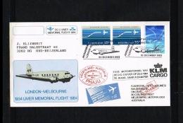 1983 - Netherlands Cover With LP15+16 - Transport - Airplanes - DC-2 Uiver Memorial Flight [JP036] - Poststempels/ Marcofilie
