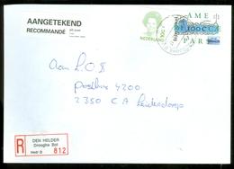 AANGETEKEND * BRIEFOMSLAG Uit 1996  Van DEN HELDER Gelopen Naar LEIDEN  (11.222c) - Period 1980-... (Beatrix)