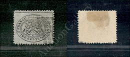 A17-113-A08-59 ANTICHI STATI - PONTIFICIO - 1868 - 3 Cent Grigio (24) - Consuete Lievi Screpolature - Difettoso A Destra - Stamps
