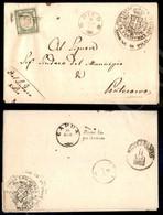 A17-096-A08-22 ANTICHI STATI - PROVINCIE NAPOLETANE - Annullato Di Pico (pt. 8) - Mezzo Tornese Verde (17) Appena Toccat - Stamps