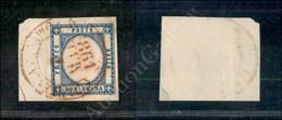 A17-100-A08-28 ANTICHI STATI - PROVINCIE NAPOLETANE - Partenza Da Napoli 7.3.61 (rosso - Pt. 10) Con Anno Capovolto - 2  - Stamps