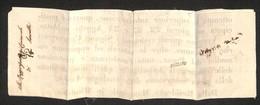 """A17-115-A08-62 ANTICHI STATI - ROMAGNE - Governo Provvisorio - Bazzano (pt.8) + 1/2 Tampone Su Intero Manifesto """"Avviso  - Stamps"""