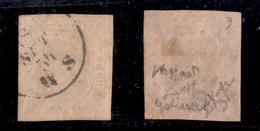 A17-277-A13-0065 ANTICHI STATI - SARDEGNA - 1853 - 40 Cent (6) - Usato - Cert. Caffaz (1.500) - Stamps