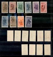 A17-308-A13-0554 COLONIE - CASTELROSSO - 1932 - Garibaldi (30/39) - Serie Completa - Gomma Integra (750) - Stamps