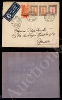A17-227-A08-493 COLONIE - CIRENAICA - Posta Militare N.109 - Frontespizio Di Aerogramma Per Genova Del 5.7.36 (2 Aerea/C - Stamps