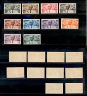 A17-311-A13-0559 COLONIE - CIRENAICA - 1934 - Roma Mogadiscio (30/39-Aerea) - Serie Completa - Gomma Integra (700) - Stamps