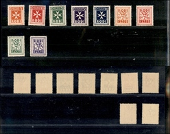 A17-320-A13-0585 COLONIE - EGEO - 1934 - Segnatasse (1/9) - Serie Completa - Gomma Integra - Stamps