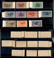 A17-326-A13-0592 COLONIE - EGEO - 1932 - Garibaldi (17/26) - Serie Completa - Gomma Integra (550) - Stamps