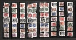 A17-373-A14-0601 COLONIE - EGEO - Emissione Per Ciascuna Isola (1/7) - Mancano Calino/ Caso/Cos - Serie Completa Su Fram - Stamps