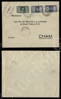 A17-225-A08-488 COLONIE - EMISSIONI GENERALI - Emissioni Generali - 50 Cent (16) - Striscia Di Tre Su Busta Da Bengasi P - Stamps